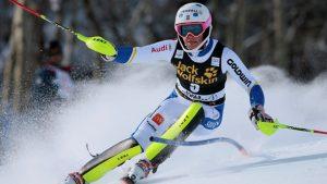Skidor Tävling Sport