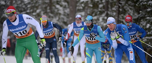 Skidor Tävling